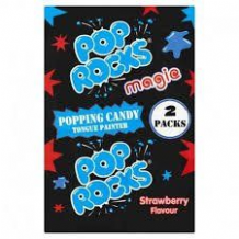 Pop Rocks Popping Candy Strawberry Flavour